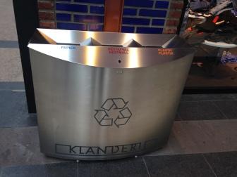 afvalbak klanderij